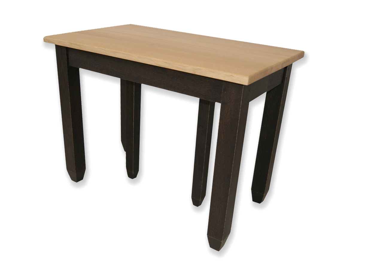 Table Console Bois Massif Extensible