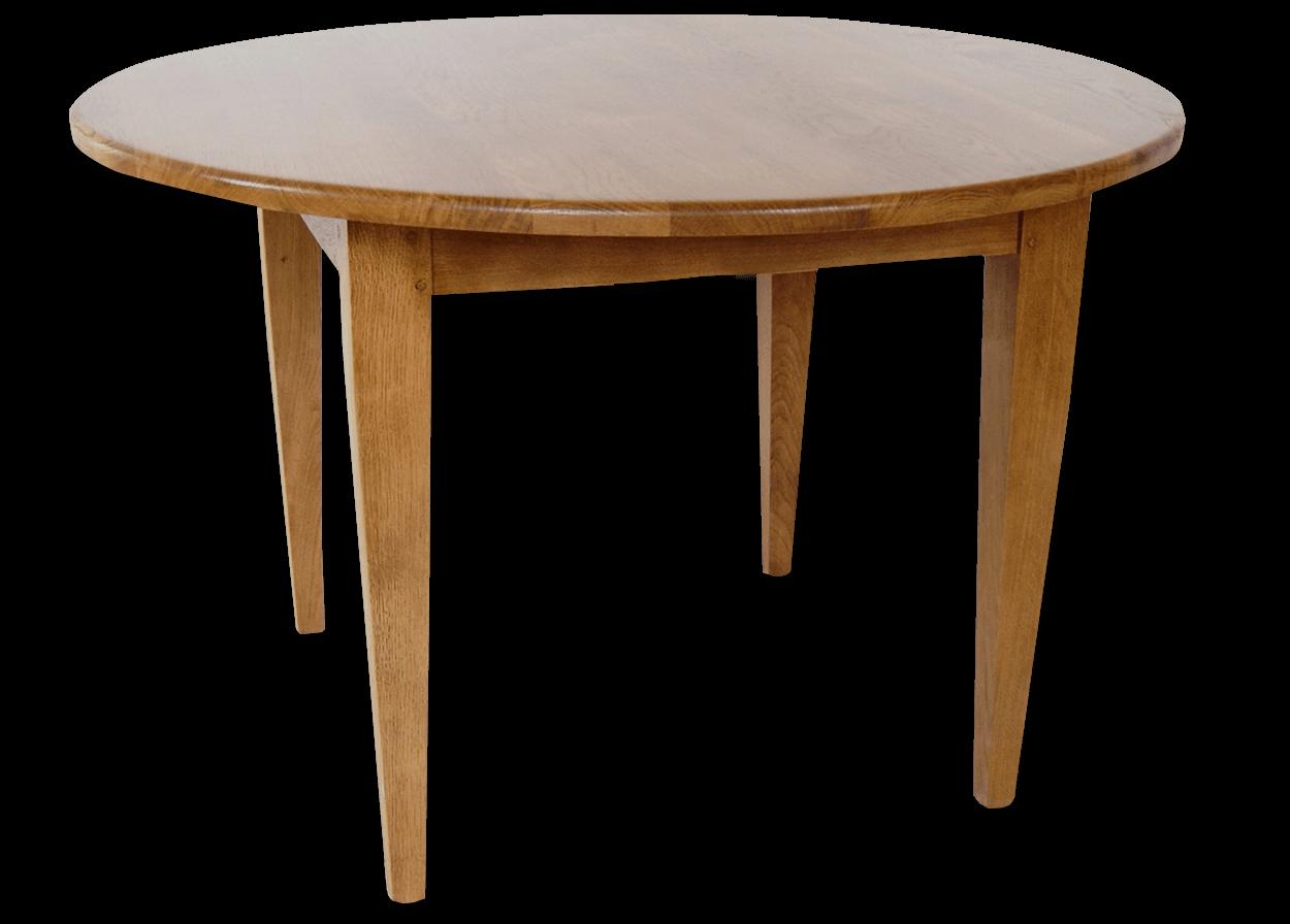 nos tables fixes en bois massif table fixe vintage ronde bois de chene massif