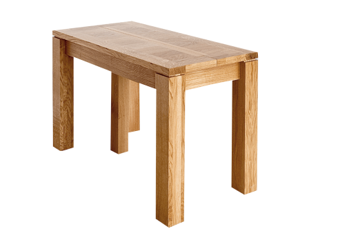 Table console - CALI Extensible allonges - bois de chène massif