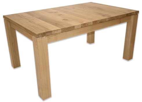 Table fixe DESIGN BIGFOOT - bois de chêne massif